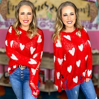 Love struck sweater