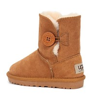 UGG Girls Boys Children Baby Toddler Kids Child Fashion Casual Boots Shoes-4
