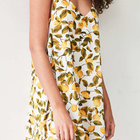 Lucca Couture Printed Strappy-Side Swing Mini Dress - Urban Outfitters
