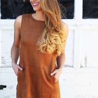Beat To Your Own Suede Dress