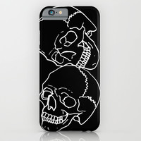 Skulls iPhone & iPod Case by Emmanuelle Ly