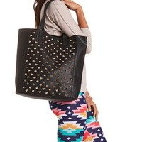 Studded Tote & Accessories Bag: Charlotte Russe