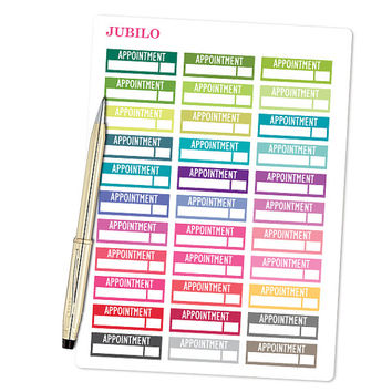 Planner Stickers Appointment Stickers