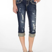 Miss Me Embroidered Stretch Cropped Jean - Women's Crops | Buckle