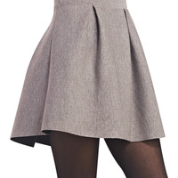 Posh Fit-N-Flare Skater Skirt | Wet Seal