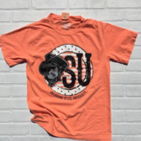 OSU comfort colors with Pete t-shirt