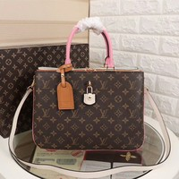 LV Louis Vuitton MONOGRAM CANVAS Millefeuille HANDBAG SHOULDER BAG