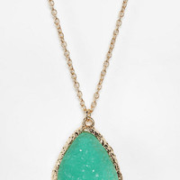 Urban Outfitters - Suncoast Delicate Druzy Necklace