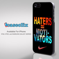 Nike Haters Motivation Nebula Galaxy for Smartphone Case