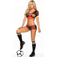 On Sale Hot Deal Sports Sexy Cup Baby Costume Football [8979023687]