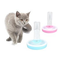 Pets Drinking Fountain Cat Dog Automatic Water Dispenser Feeder Utensils Bowl Cat Drinking Fountain Food Dish Pet Bowl