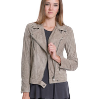 Must Have Suede Moto Jacket