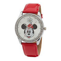 Minnie Mouse Crystalline Watch for Women