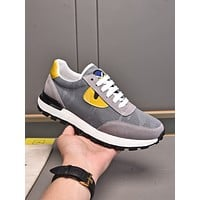 FENDI 2021 Men Fashion Boots fashionable Casual leather Breathable Sneakers Running Shoes0525cx