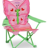 Toddler Melissa & Doug 'Bella Butterfly' Personalized Folding Chair