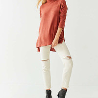 Out From Under Iona Ribbed Turtleneck Top   Urban Outfitters