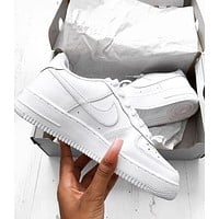 NIKE AIR FORCE 1 Tide brand men and women fashionable and comfortable sports shoes I