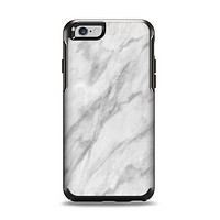 The White Marble Surface Apple iPhone 6 Otterbox Symmetry Case Skin Set