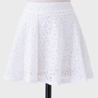 Sweet Embrace Lace Skirt