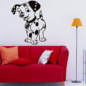 Wall Decor Vinyl Decal Sticker Mural Nice Little Dalmatian baby room S1292