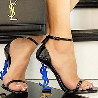 Yves Saint Laurent YSL new women's ultra-high heel stiletto with a high heel shoes 11#