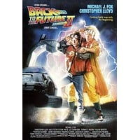 Back To The Future 2 Movie Poster 11 inch x 17 inch poster