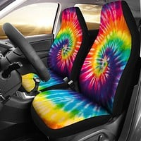 Tie Dye Car Seat Covers