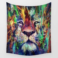 Lion Birds Eye Floral Astronauts Tapestries
