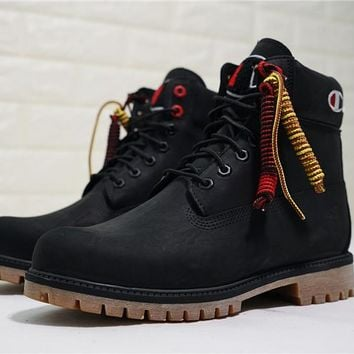 Champion x Timberland Premium 6 Inch Leather Boots A1UCR