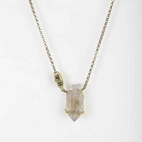 Spell & The Gypsy Collective Petite Quartz Necklace- Gold One
