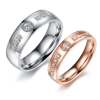 Shiny New Arrival Gift Couple Jewelry Stylish Ring [10657624327]