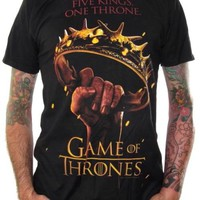 Game Of Thrones T-Shirt - Five Kings One Throne