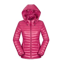 Winter jackets down jackets 2017 New Hot Women's Clothing Hooded Cotton Jackets Female Wadded Coats Outerwear Parkas