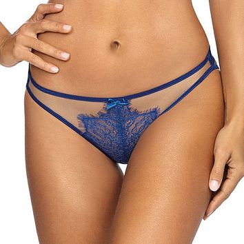 Sexy Strappy Sheer Mesh Lace Thong Panty Axami Summer Love