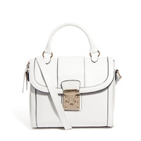 ASOS Bag With Chunky Lock And Tophandle at asos.com