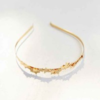 Midnight Stars Metal Headband- Gold One