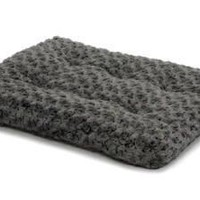 """MidWest Quiet Time Gray Ombre Swirl Dog Bed 46"""" x 29"""""""