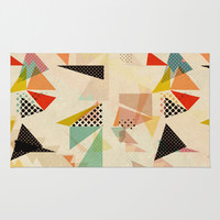 between shapes Rug by SpinL
