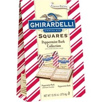 Ghirardelli Holiday Chocolate Squares Peppermint Bark Collection Gift, 13.15 oz - Walmart.com