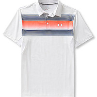 Under Armour Back 9 Chest Stripe Polo Shirt