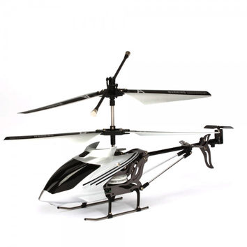 iPhone/iPod Touch/iPad Controlled 3.5CH I-Helicopter 777-173 with Gyro Silver