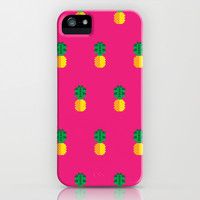 Fruit: Pineapple iPhone & iPod Case by Christopher Dina