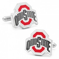 NCAA Mens Ohio State University Buckeyes Cufflinks
