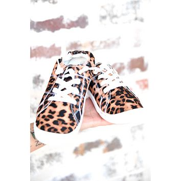 Clear To Me Sneakers - Leopard
