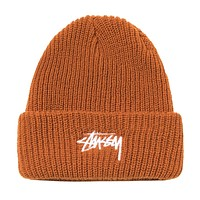 FA20 Stock Cuff Beanie Burnt Orange