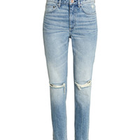Relaxed Skinny Ankle Jeans - from H&M