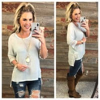 Love and Lace Sweater Top