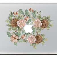 Rose Group  Vinyl Decal Sticker for Apple Macbook Pro / Air 11 13 15 Inch Laptop Case Cover Sticker