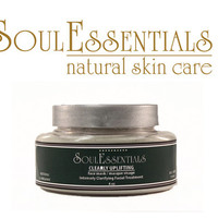 Clearly Uplifting Face Mask with Neem - Vegan - Natural and Organic Skin Care - Oily Skin - Acne - Dry Skin - Sensitive Skin