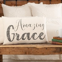 Casement Natural Amazing Grace Pillow
